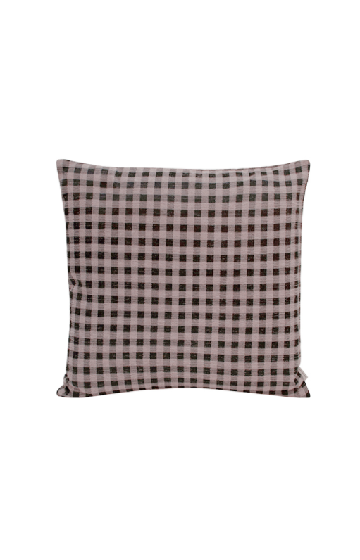 Compliments Gingham pyntepude 50 x 50 cm - Rosa