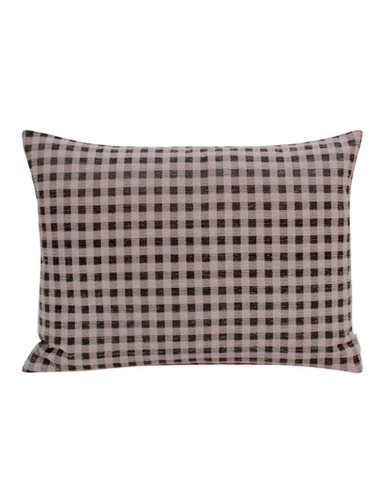 Compliments Gingham pyntepude 45 x 60 cm - Rosa