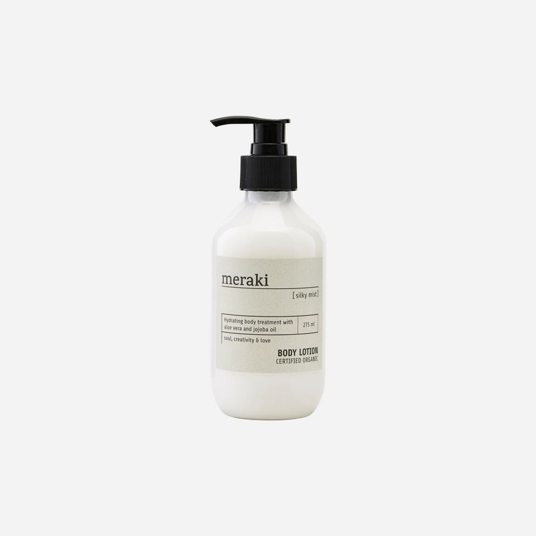 Meraki Silky Mist body lotion