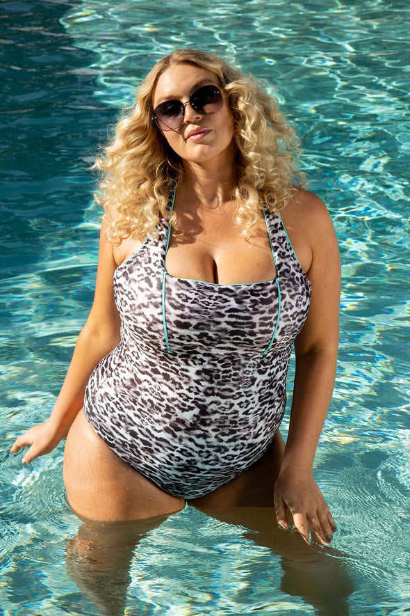 Animal Kingdom Plus Size One Piece Swimsuit