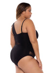 Bond Girl Plus Size One Piece Swimsuit - Catherine Li x BECCA ETC