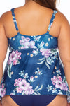 Costa Rica Plus Size Tankini Top