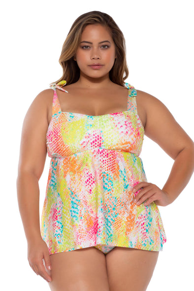Mamba Plus Size Tankini - BECCA ETC Swim