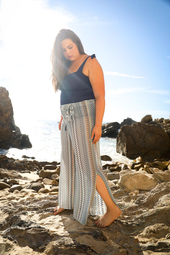 Wander Plus Size Crochet Beach Pant - BECCA ETC