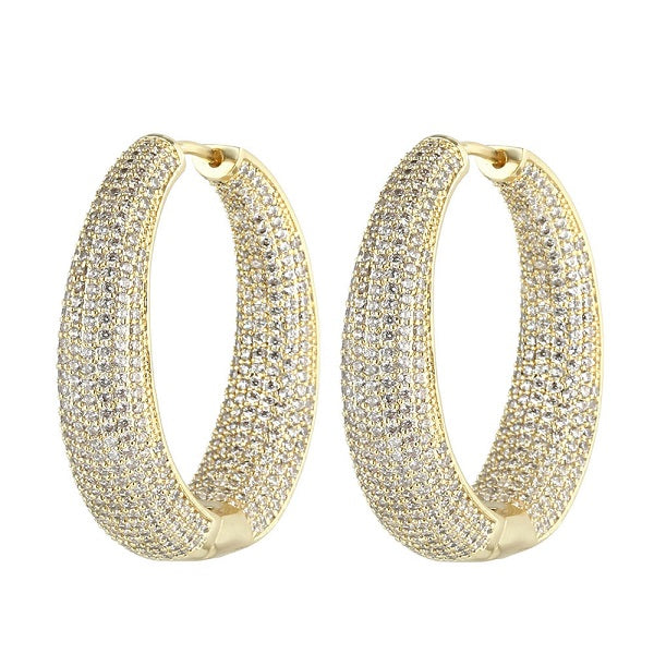 hoops earrings collection