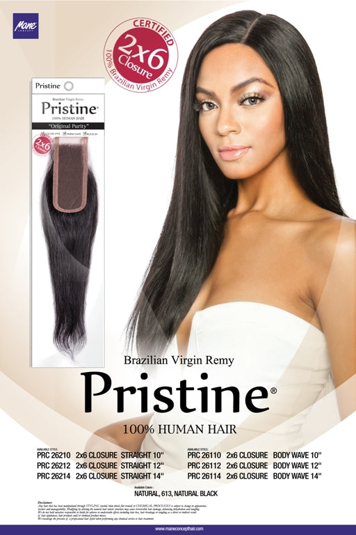 PRISTINE® - PRC26210 - 2X6 CLOSURE STRAIGHT 10""