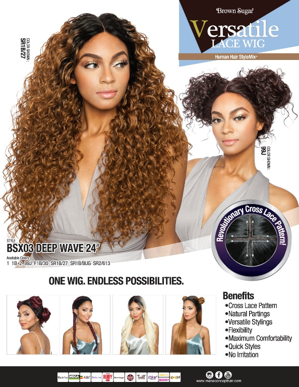 BROWN SUGAR - BSX03 - DEEP WAVE 24