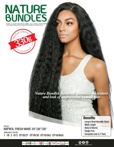 NATURE BUNDLES - NBFW4S - FRESH WAVE 14