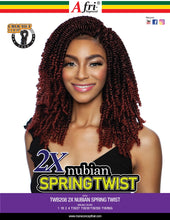 Load image into Gallery viewer, AFRI - TWB208 2X NUBIAN SPRING TWIST