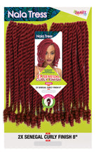 Load image into Gallery viewer, 2X SENEGAL CURLY FINISH 8″