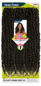 JANET COLLECTION® - 3X FLUFFY SPRING TWIST 18""