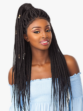 Load image into Gallery viewer, SENSATIONNEL® - CLOUD9 SWISS LACE WIG - 4X4 BOX BRAID LARGE