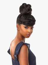Load image into Gallery viewer, SENSATIONNEL® - INSTANT BUN W/ BANGS - BRIA