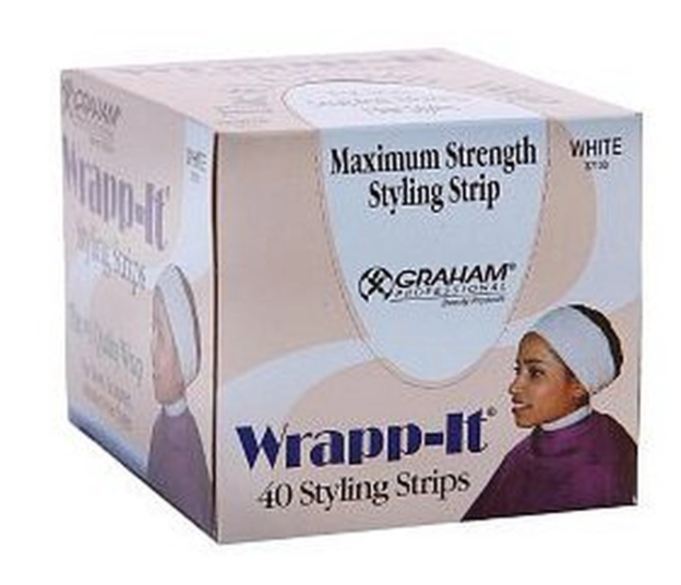 GRAHAM BEAUTY® WRAPP-IT JR. STYLING STRIPS