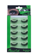 Load image into Gallery viewer, EBIN® NATURAL CATTENTION 3D LASHES - 5 PAIRS