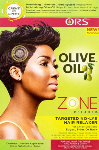 ORS® OLIVE OIL ZONE TARGETED NO-LYE HAIR RELAXER KIT