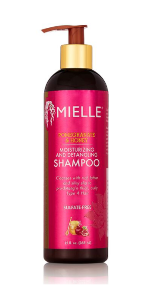 MIELLE® POMEGRANATE HONEY SHAMPOO  12OZ
