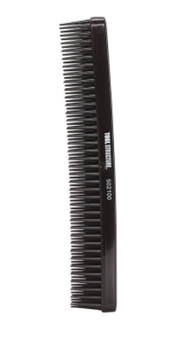 TOOL STRUCTURE 3 ROW STYLING COMB