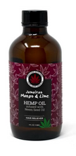 Load image into Gallery viewer, JAMAICAN MANGO & LIME HEMP OIL (4OZ)