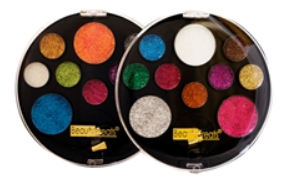 BEAUTY TREATS® 10 COLOR PERFECT GLITTER PALETTE