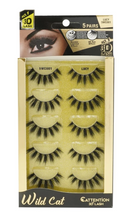 Load image into Gallery viewer, EBIN® WILD CATTENTION 3D LASHES - 5 PAIRS