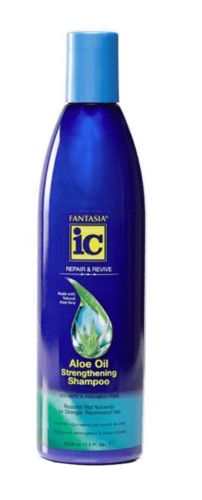 FANTASIA IC ALOE OIL STRENGTHENING SHAMPOO   12.5OZ