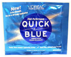 LOREAL® QUICK BLUE PACKETTE DSP (1OZ)