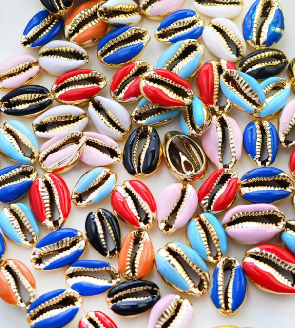 MAGIC® COLLECTION  - METALLIC SHELL BEADS