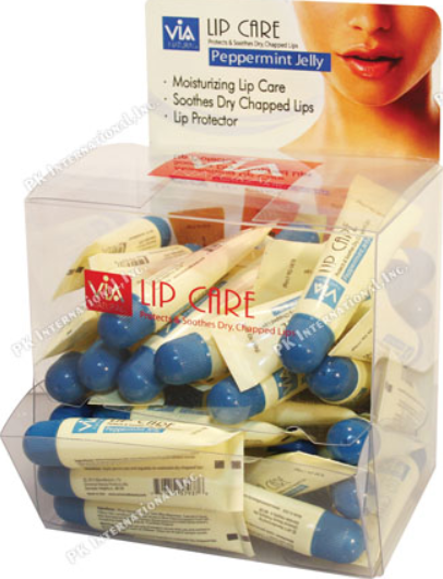 VIA LIP CARE - PEPPERMINT JELLY  (.35OZ)