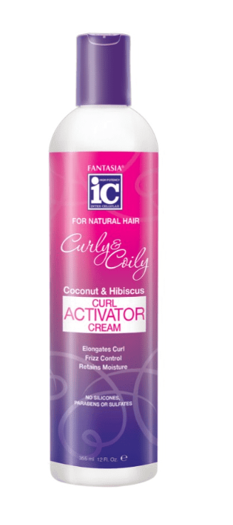 IC CURLY & COILY CURL ACTIVATOR CREAM COCONUT 12.5OZ