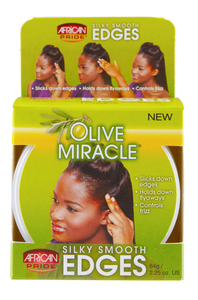 AFRICAN PRIDE® OLIVE MIR EDGES (2.5OZ) [SMOOTH]