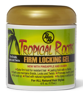 B & B Tropical Roots Firm Locking Gel 6 Oz