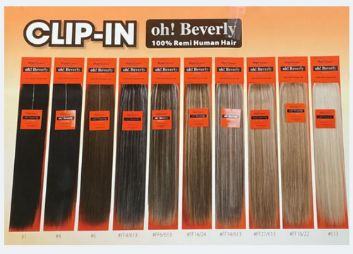 HairSense™ - Oh! Beverly 7-piece Clip-In - 22
