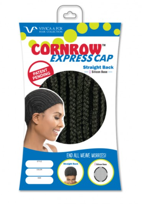 VIVICA FOX® - CORNROW WITH SILICON-STRAIGHT BACK