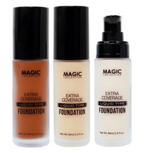 Load image into Gallery viewer, MAGIC® COLLECTION - EXTRA COVERAGE LIQUID TYPE FOUNDATION 1OZ