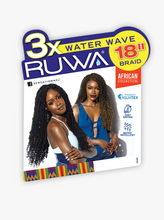 Load image into Gallery viewer, SENSATIONNEL®-3X RUWA WATER WAVE 18″