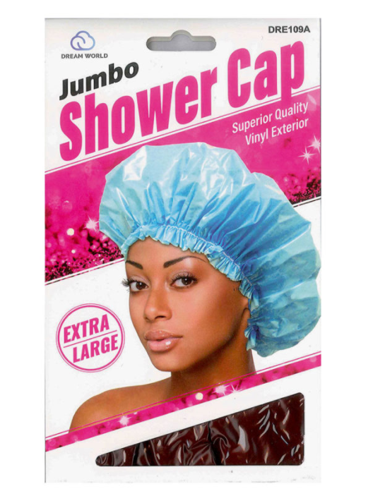 DREAM WORLD® JUMBO DELUXE LUXURY SHOWER CAP