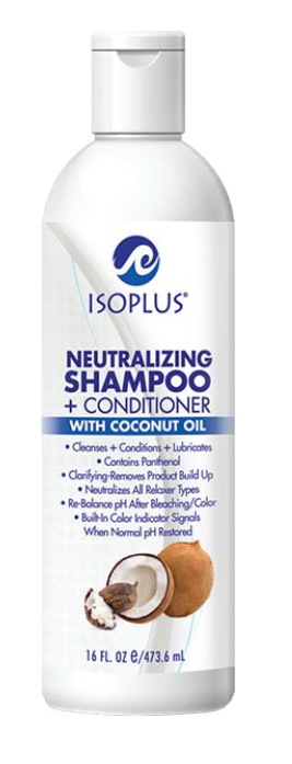 ISOPLUS® Neutralizing Shampoo + Conditioner with Coconut Oil