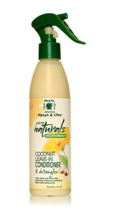 JAMAICAN MANGO & LIME PURE NATURAL COCONUT LEAVE-IN CONDITIONER & DETANGLER