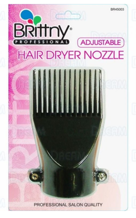 BRITTNY ADJUSTABLE HAIR DRYER NOZZLE