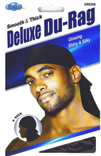 Load image into Gallery viewer, DREAM WORLD® SMOOTH & THICK SHINY/SILKY DELUXE DURAG