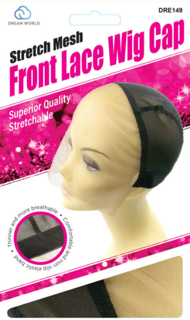 DREAM WORLD® STRETCH MESH FRONT LACE WIG CAP