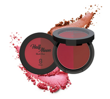 Load image into Gallery viewer, SISTAR COSMETICS - HALF MOON Blush Duo
