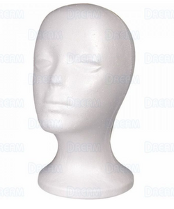 BRITTNY STYRO FOAM HEAD 5.33OZ