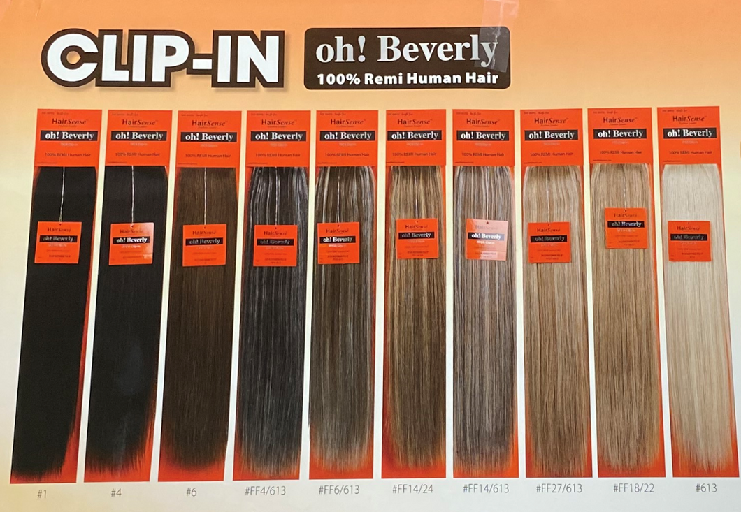 HairSense™ - Oh! Beverly 7-piece Clip-In - 16