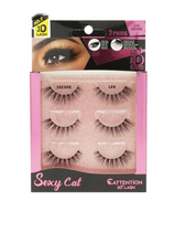 Load image into Gallery viewer, EBIN® SEXY CATTENTION 3D LASHES - 3 PAIRS
