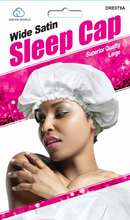 Load image into Gallery viewer, DREAM WORLD -  SATIN WIDE SLEEP CAP
