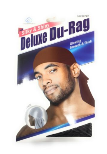DREAM WORLD® SMOOTH & THICK SHINY/SILKY DELUXE DURAG