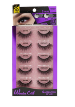 Load image into Gallery viewer, EBIN® WONDER CATTENTION 3D LASHES - 5 PAIRS