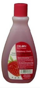 DELON NAIL POLISH REMOVER (4OZ) [STRAWBERRY]
